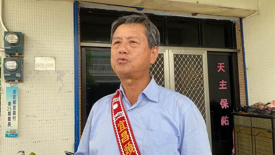 宜昌部落頭目李毓書Zi Hu表示,現在兩岸關係緊張,能理解楊的立場,但強調「不代表部落的立場」。(羅亦晽攝)