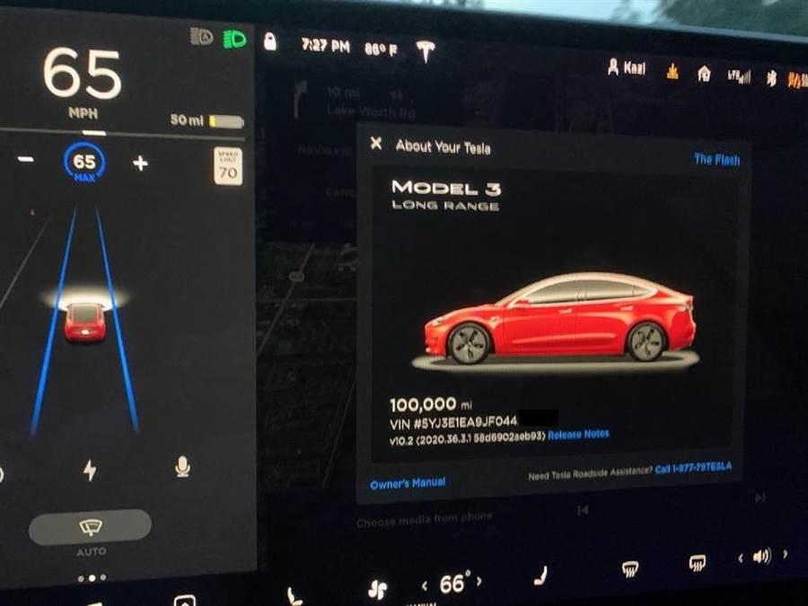 美國車主揭露Model 3 開了16萬公里後花了多少錢