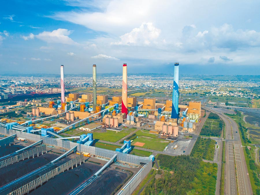 經濟部六大電力開發計畫中,興達燃氣機組改建因環評延宕,中火(見圖)與協和2大電廠還卡在地方政府及環評審議,動彈不得。(台中市政府提供)