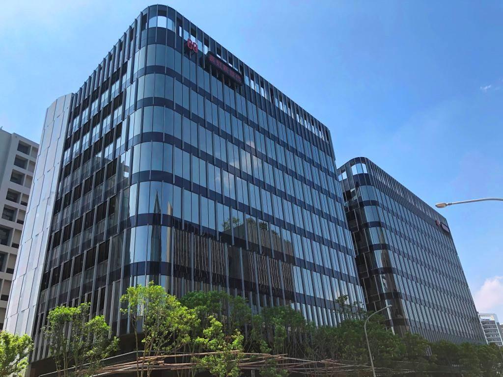 萬海航運繼購入長虹新世代科技大樓A棟後,再以15.38億元購入同社區B棟。(業者提供)