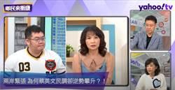 「20到29歲年輕人」喊打喊殺最大聲 陳鳳馨:你們快去當兵