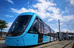 淡海輕軌藍海線年底通車 主題列車精彩可期