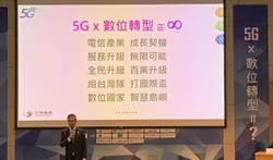 《通信網路》電信業拚5G孤掌難鳴 中華電郭水義:盼政府帶頭