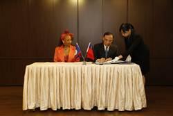 台灣貝里斯異地簽約 刑事司法互助條約