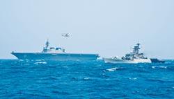 日印聯合軍演 印海軍備戰狀態