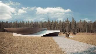 隱世建築「Plan B」│猶如美術館的地下居宅