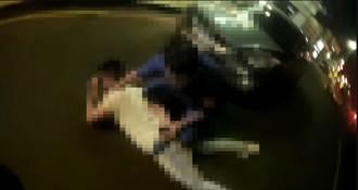 高雄苓雅區酒店被砸 警方鳴槍逮3人