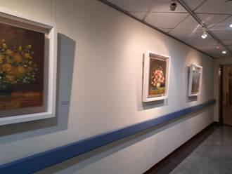 小丑畫家油畫展 「意象風華」童綜合展出