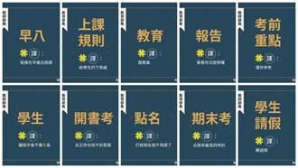 文化廣告推Kuso版教師辭典 風趣翻譯引共鳴