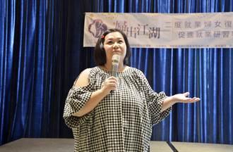 可愛婆婆鍾欣凌台南演講 鼓勵民眾演出人生好戲