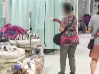 7旬婦組非法看護集團 急診室內狂發名片
