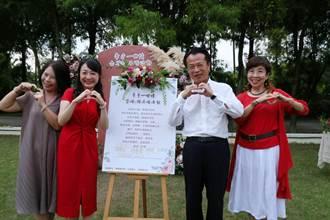 結婚50年以上 中埔鄉幫忙辦草地婚禮 還送蜜月禮