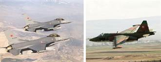 土耳其F-16戰機 擊落亞美尼亞Su-25攻擊機