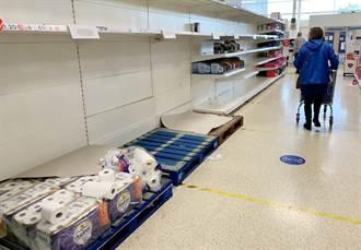 囤貨潮再現 瘋狂大媽豪砸18萬 掃光各大超市貨架
