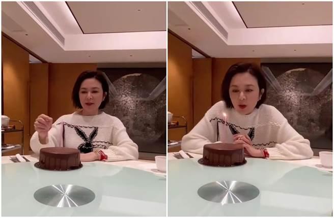 經紀人曝58歲關之琳真實顏值。(圖/取材自東網)