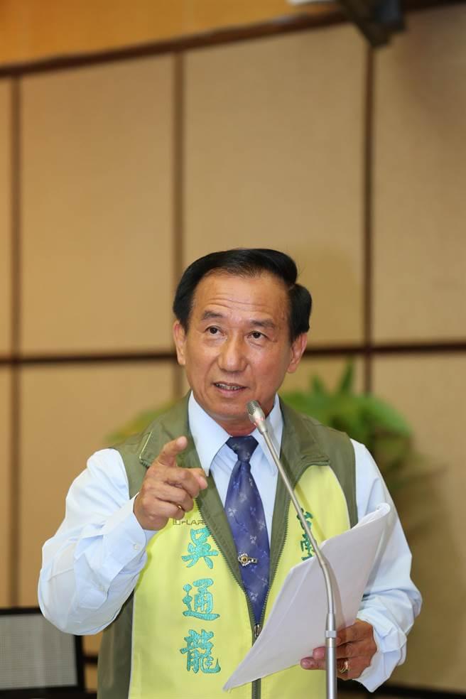 台南市議員吳通龍涉詐領助理費案,台南高分院改判徒刑2年。(本報資料照片)