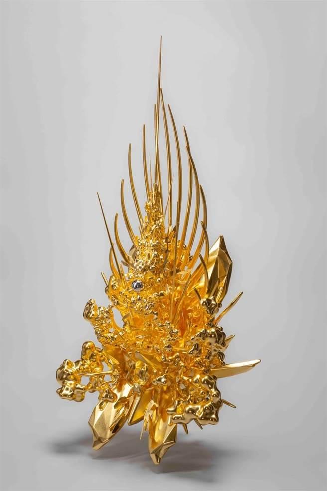 今年ART Taipei將展出名和晃平於羅浮宮金字塔展出的名作《Throne》。(ART Taipei提供)