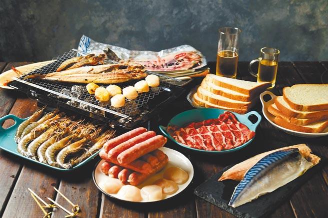 Yahoo奇摩購物中心的樂天派海陸頂配烤肉雙PA組,30日前享特價999元。(Yahoo奇摩購物中心提供)飲酒過量 有害健康