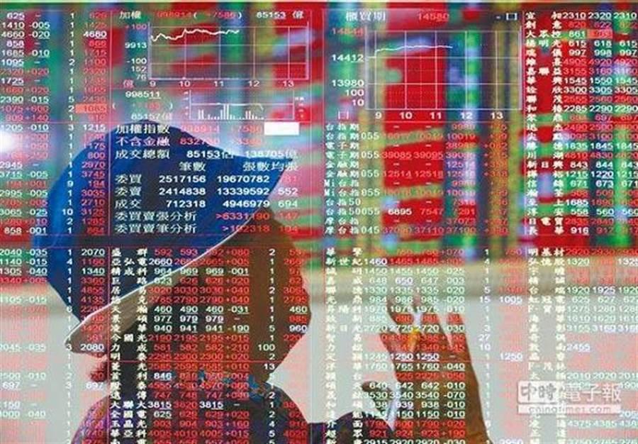 台股開盤漲百點。(圖/中時資料照)