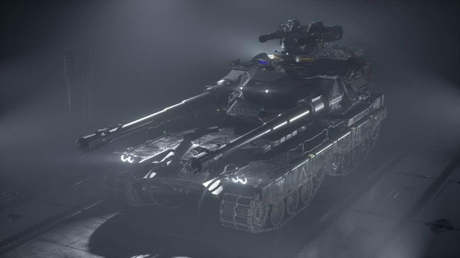俄羅斯提出兩段式戰車,還不確定長什麼模樣,或許類似科幻戰略遊戲「將軍」的「炎黃戰車」(圖/Thomas Loopstra)