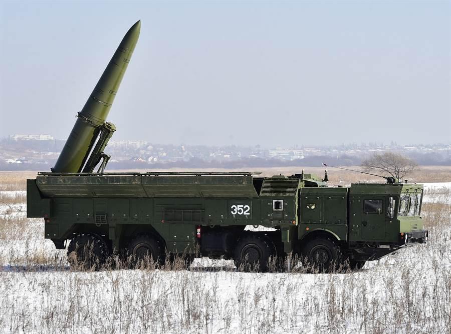 9K720「伊斯坎達爾」飛彈。(圖/俄羅斯國防部)