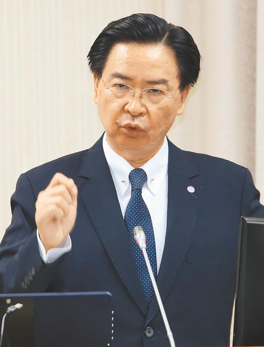 外交部長吳釗燮昨在立法院透露,台灣和日本已達成小幅度的開放措施,目前仍無法對外說明。(王英豪攝)