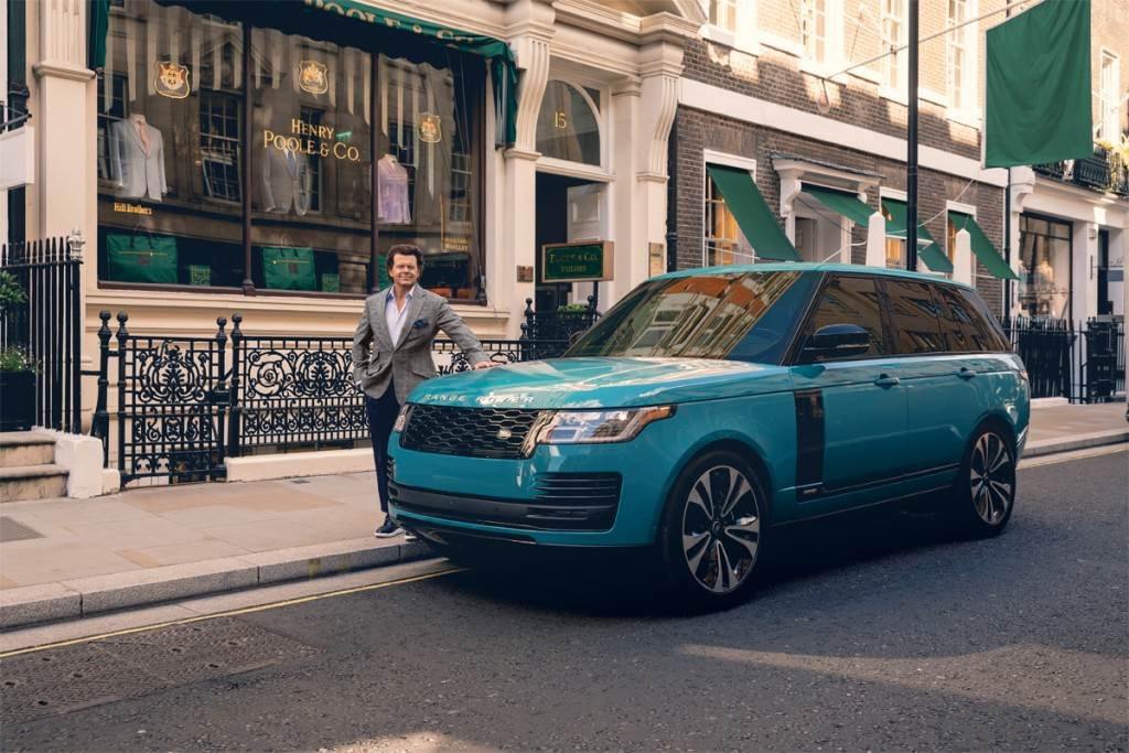 Henry Poole推出聯名訂做西裝 讓你穿著紳士的盔甲開Range Rover