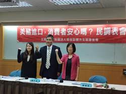 逾6成民眾反對美豬進口 台灣基進、綠營支持者逾3成贊成