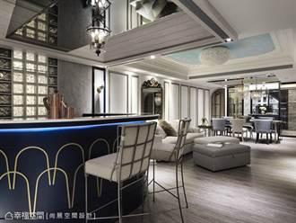 构筑美式宴客宅 2重点放大尺度、丰富格局