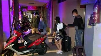 萬華警方突擊私娼大樓 2對男女「來不及拔出」被活逮