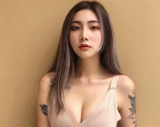 豪爽美豔文大版豆花妹 自曝有戀足癖