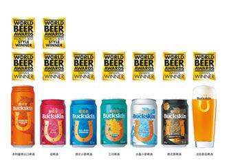 暢飲台灣之光 柏克金啤酒再奪金