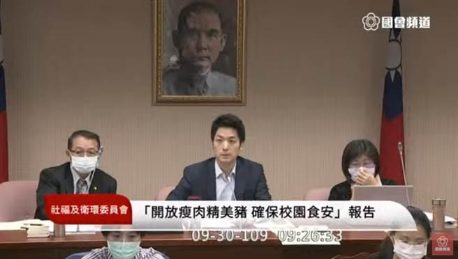 衛環召委職權被質疑,蔣萬安霸氣回嗆。(圖/摘自國會頻道直播畫面)