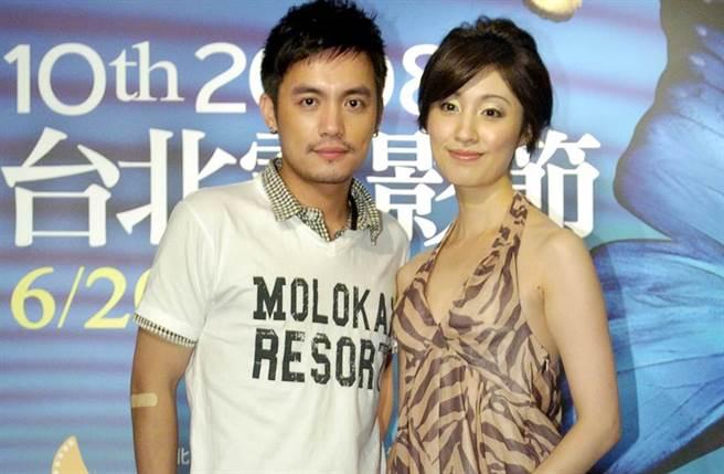 田中千繪與范逸臣情纏12年,卻始終未公開認愛。(圖/中時資料照)