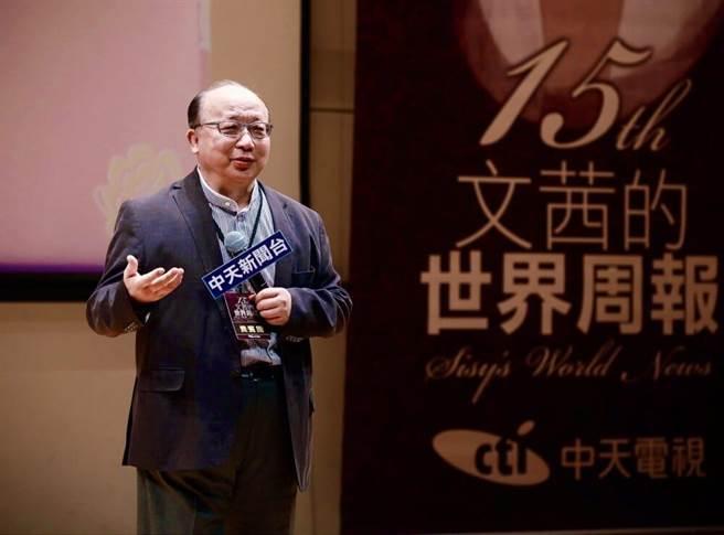 前台中市长胡志强。(图为资料照,中天新闻台提供)