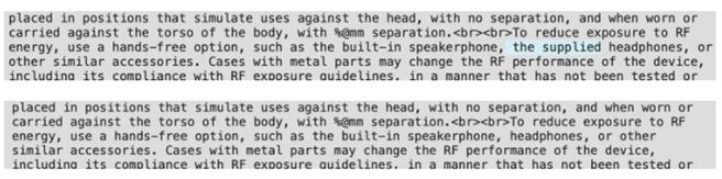 外媒根據 iOS 14.2 Beta 2 的說明文字發現,iPhone 12 系列有極高可能不再搭送有線耳機。(摘自MarRumors)