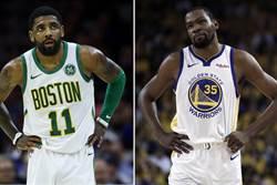 NBA》KD認了!去年全明星賽跟厄文討論聯手