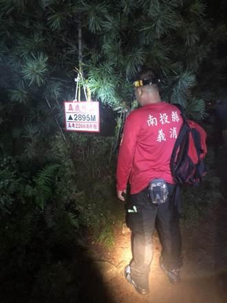 信義鄉鹿林山域事故 全員成功被救獲