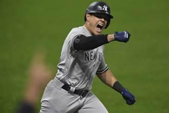 MLB》印隊終結者軟手 洋基9上逆轉險勝晉級