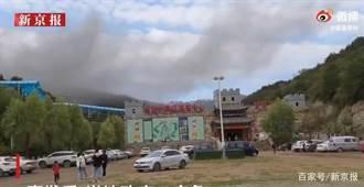 山西太原台駘山景區發生火警 已致13人死亡15人受傷