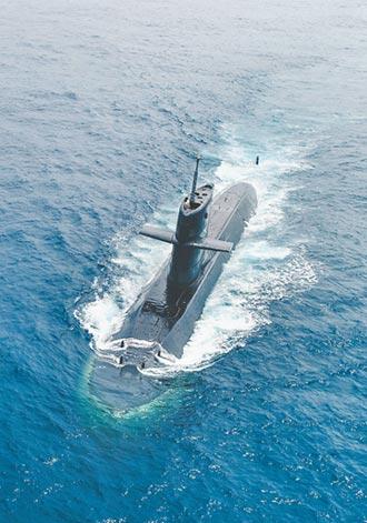 海軍2潛艦戰系提升 4年內完工