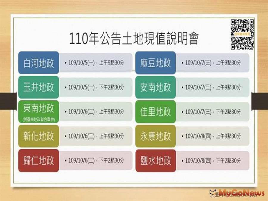 台南2021年公告土地現值作業說明會正式開跑