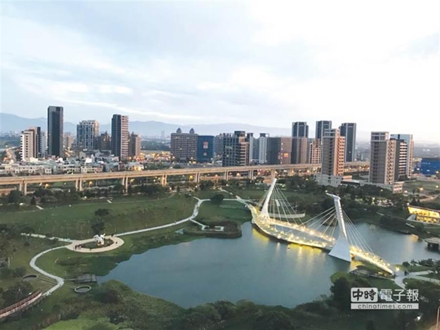 專家認為,現在到處都是房地產開發,最扯當屬台南跟桃園。(業者提供)