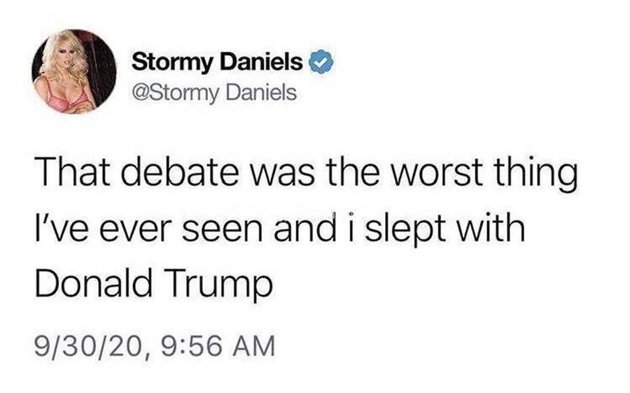 丹妮爾絲發推特嘲諷川普,不過稍後已把推文刪掉。(截自網路)
