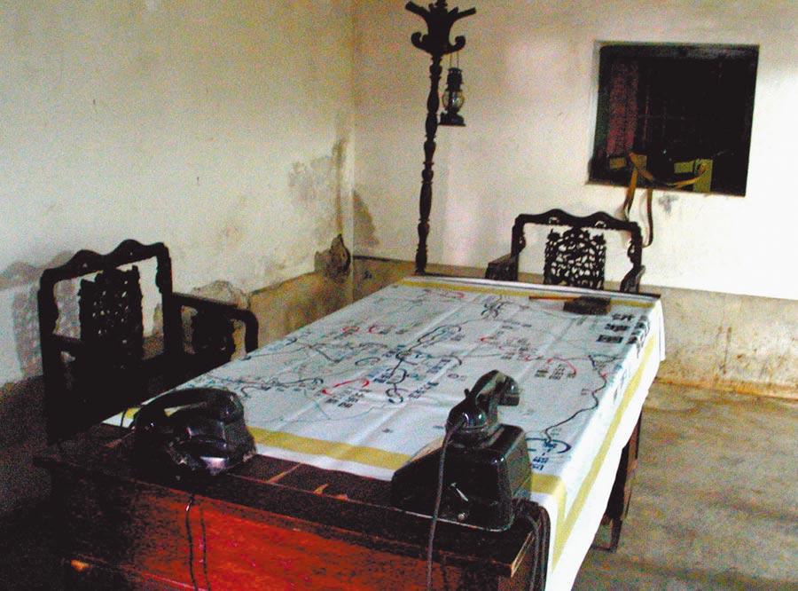 國民黨第二綏靖區司令王耀武,在濟南戰役後期的臨時指揮部。(新華社資料照片)