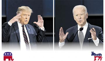 美國總統大選首場辯論會 川普VS.拜登 大亂鬥