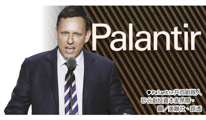 Palantir共同創辦人矽谷創投資本家席爾。圖/美聯社、路透