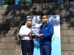 侯友宜合體林智堅 到新竹看設計撇藍綠