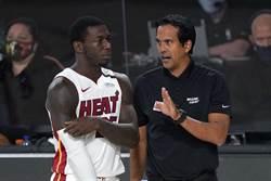 NBA》熱火主帥:現在是考驗陣容深度時刻