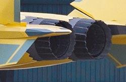 陸國產化躍進 太行版殲-20試飛